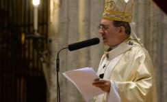 """Mons. Asenjo: """"En la Eucaristía no veneramos una imagen, sino al mismo Jesús"""""""