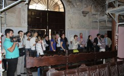 """Restauración de Santa María la Blanca, """"abierta por obras"""""""