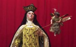 Inauguración de la Exposición sobre Santa Teresa en Sevilla