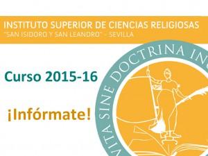 banner ISCR información curso 201516