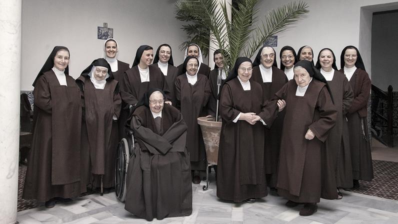 Las Teresas en su convento de San José del Carmen