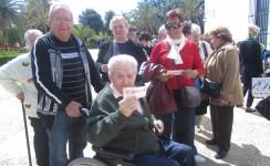 Servicios de Cáritas para las personas mayores en dificultades