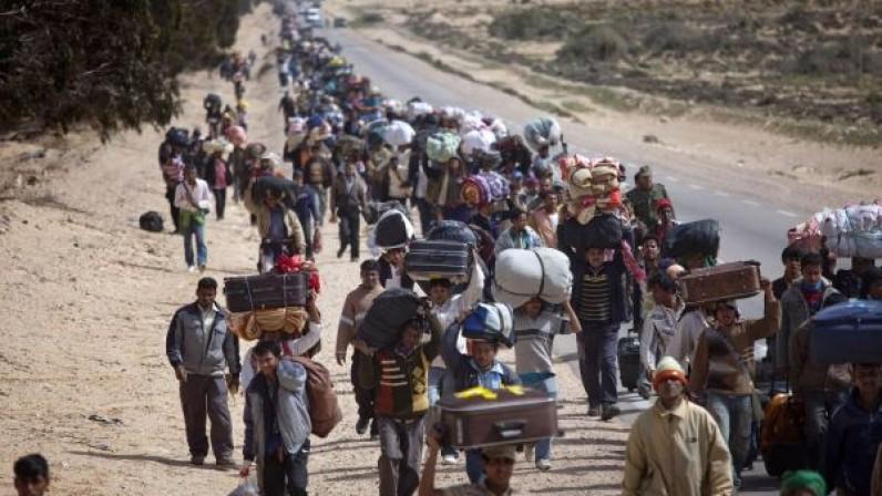 Resultat d'imatges de fotos de refugiados