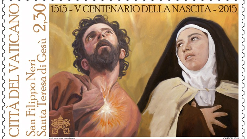 Los centenarios de Santa Teresa y San Felipe Neri en la numismática vaticana