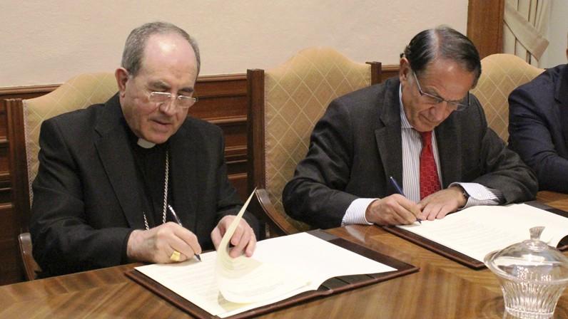 Convenio con la Fundación Sevillana Endesa para la iluminación artística de Santa María la Blanca