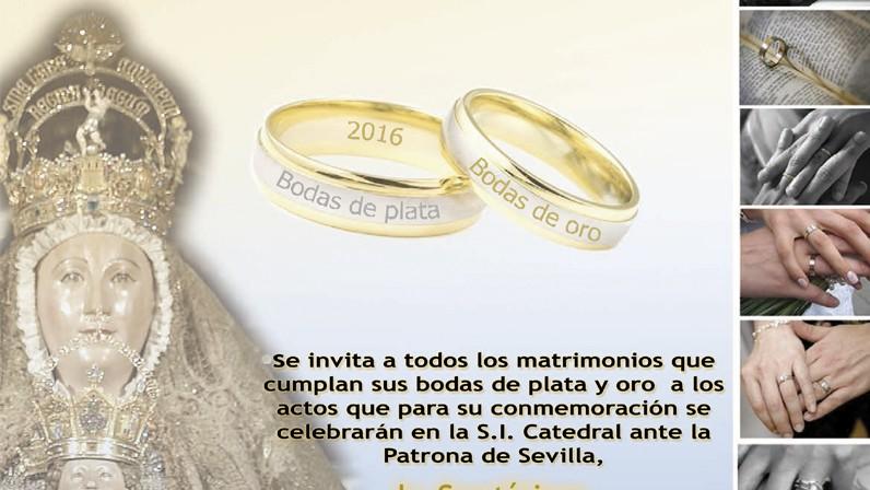Celebración diocesana de Bodas de Plata y Oro matrimoniales