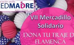 REDMADRE Sevilla recoge trajes de flamenca y complementos con motivo de su VII Mercadillo Solidario