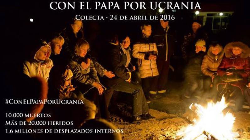 'Con el Papa por Ucrania', colecta especial para el 24 de abril