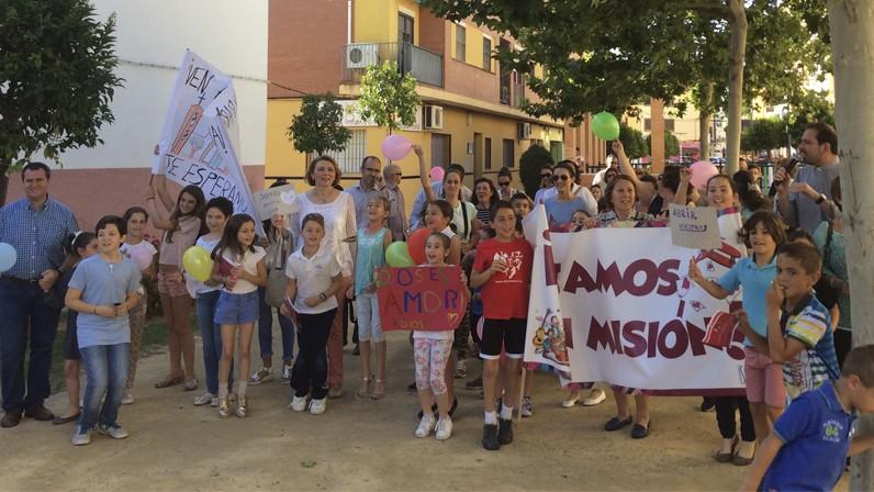 La Parroquia de Nuestra Señora del Rocío de Dos Hermanas comienza su Misión Popular