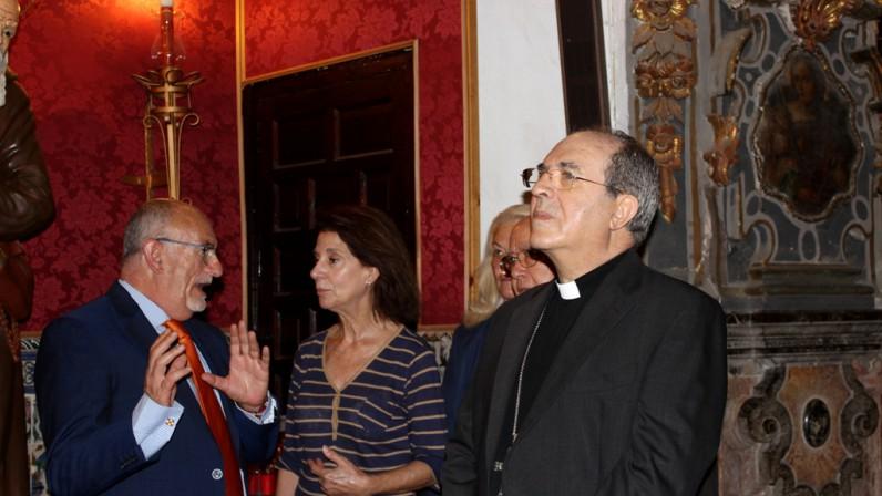 El Arzobispo se compromete a mediar ante las administraciones a favor de la Capilla de San José
