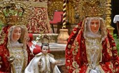 Procesión extraordinaria de la Señora Santa Ana por el Año Jubilar de la parroquia trianera
