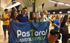 Parten hacia Polonia un millar de jóvenes sevillanos que participarán en la JMJ