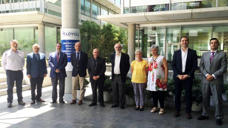 Acuerdo entre la Delegación diocesana de Enseñanza y Universidad Loyola Andalucía para el máster universitario de Enseñanza Secundaria