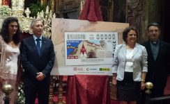 La ONCE dedica su cupón del 27 de julio al Jubileo de Santa Ana