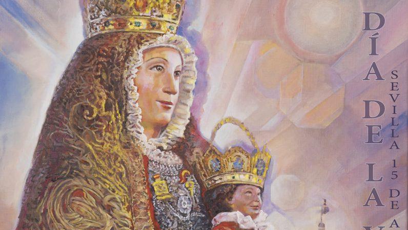 La virgen de los reyes lucir el manto rojo for Mudanzas virgen de los reyes
