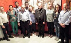 El Arzobispo visita la casa Mambré