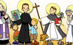 II Fiesta infantil de Todos los santos en la Parroquia de Santa Cruz