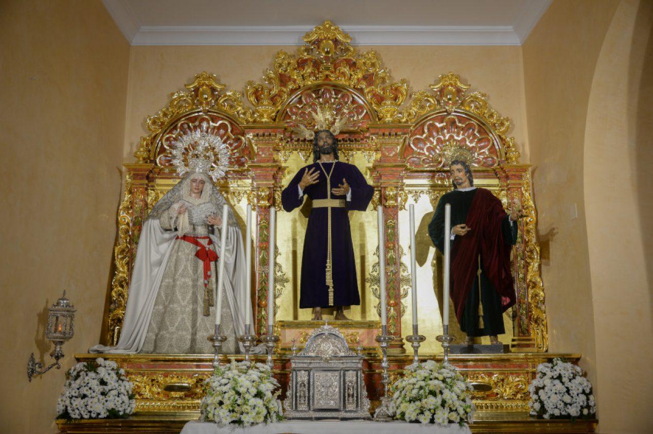 Mons asenjo inaugura la nueva iluminaci n art stica de - Iluminacion sevilla ...