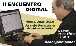 Encuentro digital con monseñor Asenjo