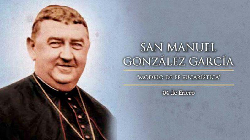 4 de enero, festividad de san Manuel González