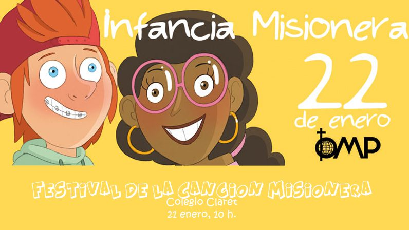 El sábado se celebra la Jornada de la Infancia Misionera