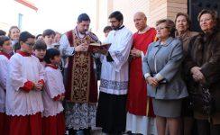 Bendición de las nuevas instalaciones en San Vicente Mártir, de Tocina