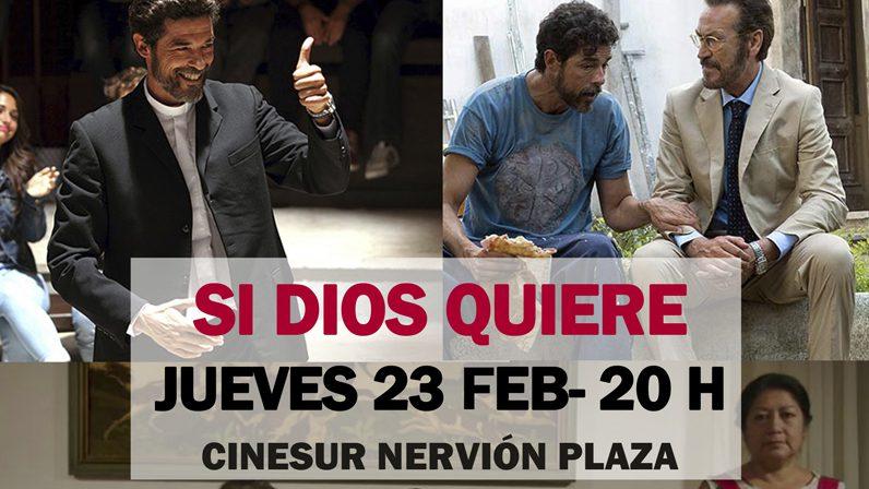 Hoy, clausura de la III Muestra de Cine Espiritual con la comedia italiana 'Si Dios quiere'
