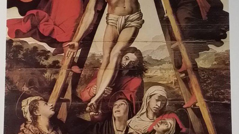 El Descendimiento de la Cruz, de Pedro de Campaña