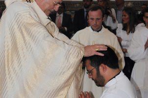 Ordenación diaconal de José Miguel Gómez