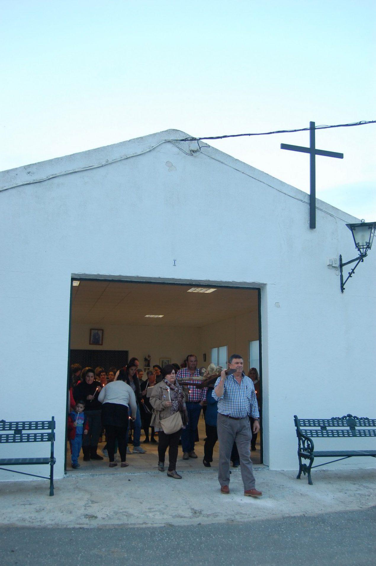 Vía Crucis en El Veredón, Lora del Río