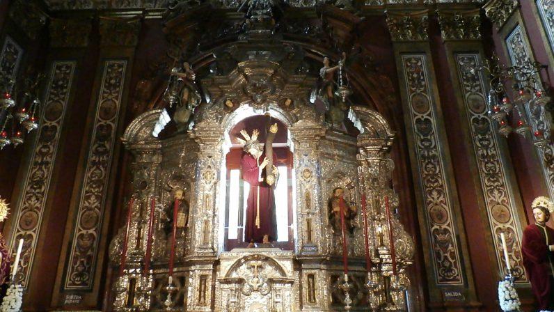RETABLO DE LA CAPILLA SACRAMENTAL (Iglesia colegial del Divino Salvador, de Sevilla)