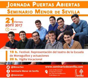 21 abril_Jornada Puertas Abiertas Seminario Menor 2017_