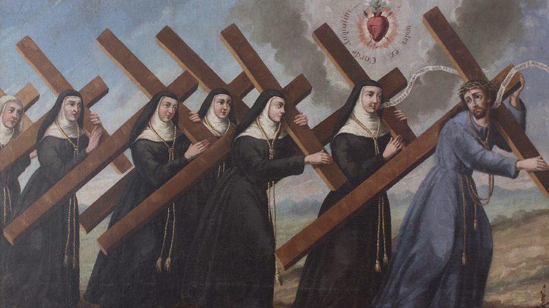 Vía Lucis de Pascua en el convento del Espíritu Santo
