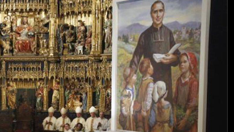 Celebración en la comunidad del Ángel de la Guarda por la beatificación de su fundador