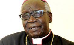 Monseñor Erkolano Lodu, Obispo de Yei (Sudán del Sur), ofrece una conferencia sobre los cristianos perseguidos