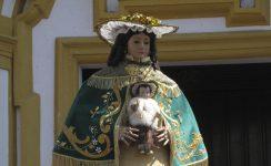 Actos centrales de la Venida de la Virgen de Escardiel a Castilblanco de los Arroyos