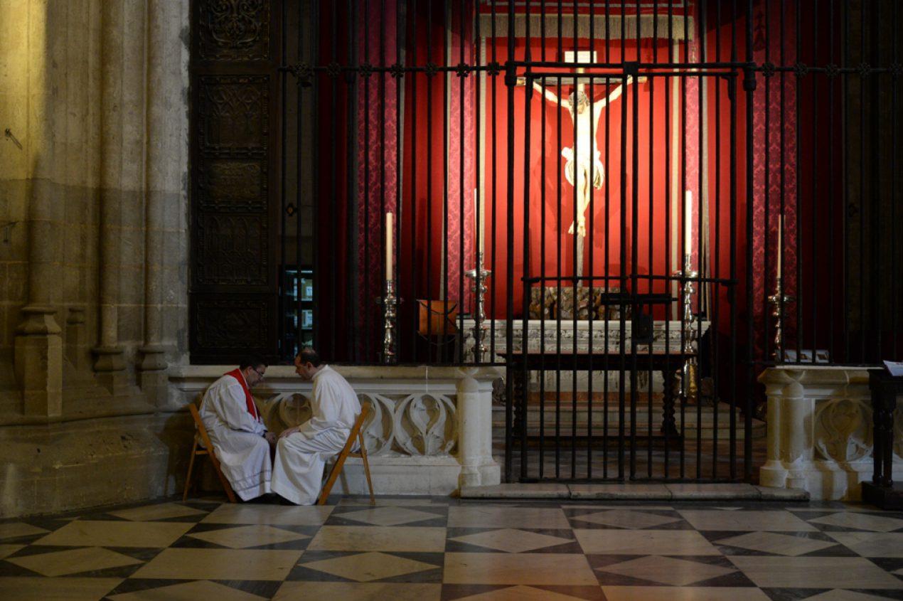 Vigilia de Pentecostés 2017. Procesión de la Virgen de Fátima
