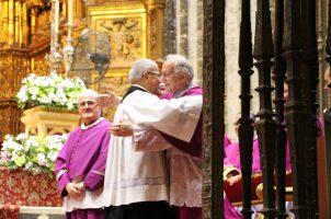 Toma de posesión de José Márquez como canónigo honorífico