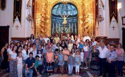 Celebración Ecuménica en la Basílica del Cristo de la Expiración con niños bielorrusos
