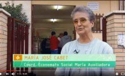 Homenaje a sor María José Cabet, fundadora del Economato María Auxiliadora