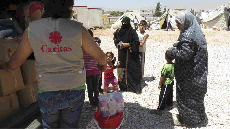 Cáritas destina 883.276 euros a proyectos de ayuda a las víctimas de Siria