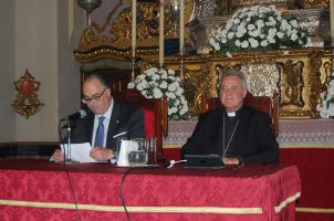 Conferencia de Mons. Iceta sobre la dignidad de la vida