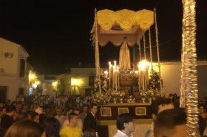 Cultos en honor a la Virgen de Fátima en Osuna