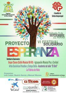 8 sept_VI Festival Solidario a beneficio de las parroquia de Estepa