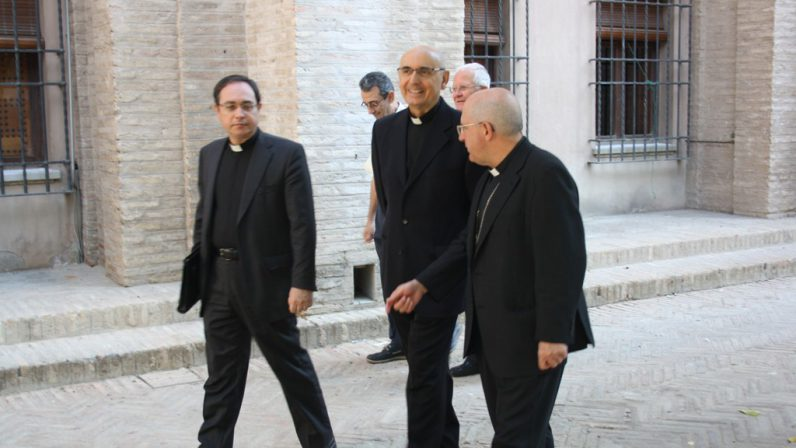 Monseñor Gómez Sierra inicia la visita pastoral a la Parroquia del Sagrario