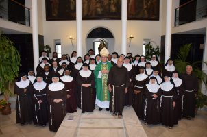 Asamblea de las Hermanas Clarisas (Federación Nuestra Señora de Regla), en Betania