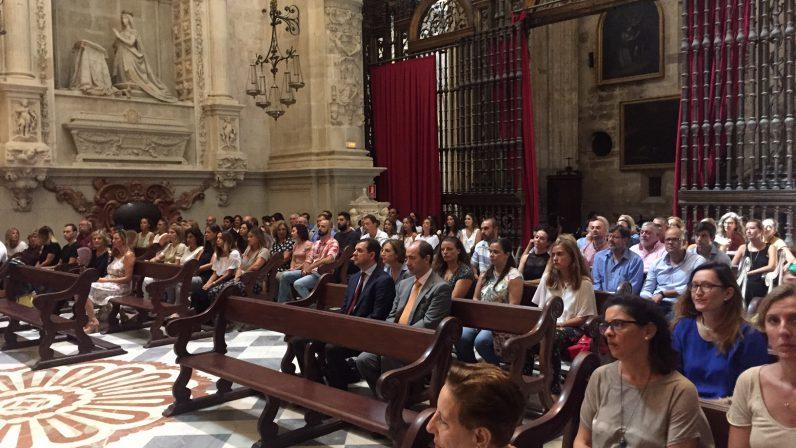 Los colegios diocesanos de Sevilla se preparan para el inicio de curso con una Eucaristía en la Catedral