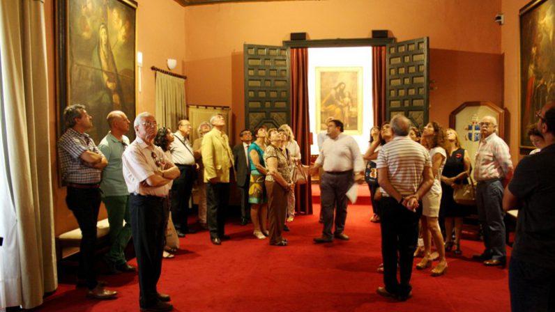 Jornada inaugural del programa de visitas culturales al Palacio Arzobispal