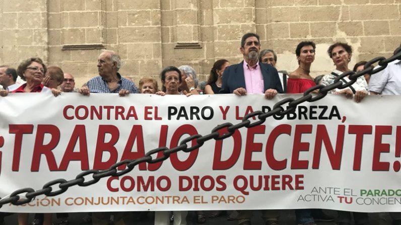 La Iglesia en Sevilla unida contra el paro