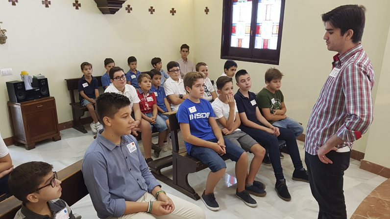 El Seminario Menor da el pistoletazo de salida a la II Escuela de Monaguillos